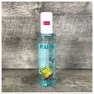 Spongebob Wet Wild Nautical Purifying Setting Mist